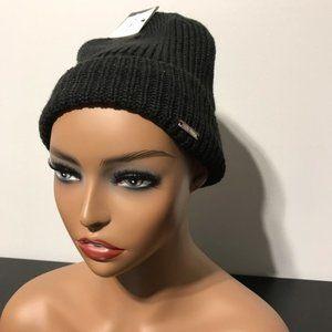 NEW Steve Madden Mens Knit Beanie Black One Size